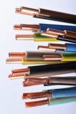 力量小条和电缆 免版税图库摄影