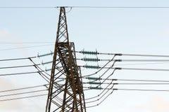 力量电定向塔 免版税图库摄影