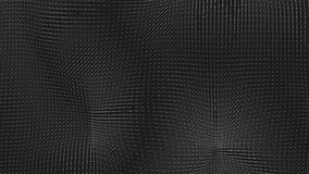 力量的传染媒介单色领域形象化 磁性或重心波动图 与a的科学背景 向量例证