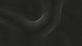 力量的传染媒介单色领域形象化 磁性或重心波动图 与a的科学背景 库存例证