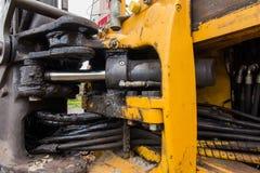 水力阀门工业管道系统  库存照片
