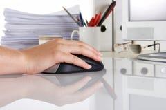 办公室个人计算机 库存照片