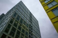 办公室中心在莫斯科 免版税库存图片