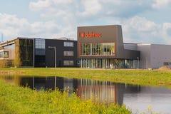 办公室公司Dalmec和Cravt在Meerkerk的郊区 库存图片
