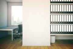 办公室内部 免版税库存图片