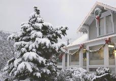 办公室冬天 免版税库存图片