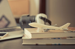 办公室商务旅游时间概念 免版税库存照片
