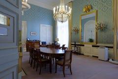 办公室在卢森堡宫殿,巴黎,法国 图库摄影