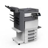 办公室多功能打印机 向量例证