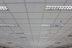 办公室天花板 免版税库存图片
