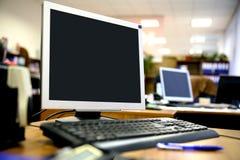 办公室安排工作 免版税库存照片
