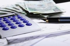办公室实用程序 免版税库存照片
