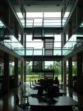 办公室工作区 免版税库存照片