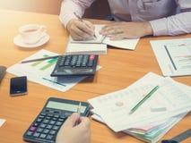 办公室工作的企业概念 免版税库存照片
