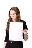 办公室工作者出故障 免版税图库摄影