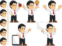 办公室工作者定制的吉祥人11 库存图片