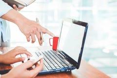 办公室工作者生活方式  免版税图库摄影