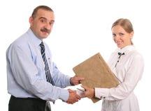 办公室工作者 免版税库存图片