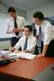办公室工作者 免版税图库摄影