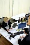 办公室工作 免版税图库摄影