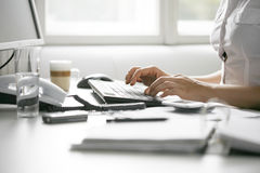 办公室情形 免版税库存图片