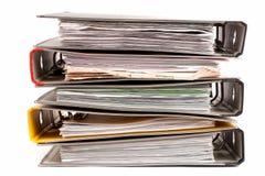 办公室文件夹 免版税库存图片