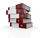 办公室文件夹 免版税库存照片