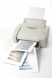 办公室激光打印机 免版税库存照片