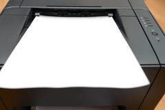 办公室激光打印机 库存图片