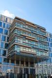 办公室现代大厦在赫兹里亚,以色列 免版税图库摄影