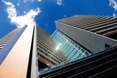 办公室现代摩天大楼大厦在巴塞罗那 库存图片
