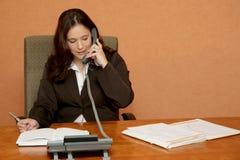 办公室电话 图库摄影