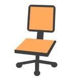 办公室的椅子 向量例证
