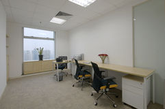 办公室空间 免版税库存图片