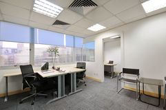 办公室空间 免版税库存照片