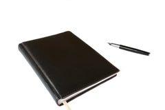 办公室笔记本 库存图片
