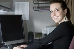 办公室职业妇女 免版税库存图片