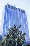 办公室蓝色大厦 免版税库存照片