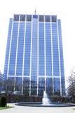 办公室蓝色大厦 库存图片