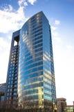 办公室蓝色大厦 免版税库存图片