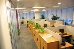 办公室设置 免版税库存照片
