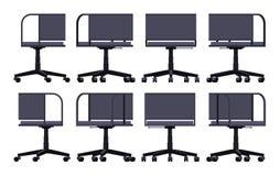办公室转动的椅子 免版税图库摄影