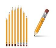 办公室铅笔 免版税库存图片