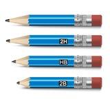 办公室铅笔 免版税库存照片