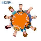 办公室队企业概念 库存照片