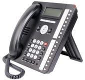 办公室IP电话机 免版税图库摄影