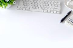 办公桌和供应 库存图片