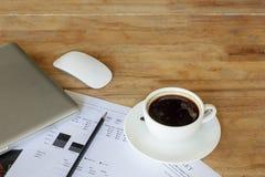 办公桌桌 免版税图库摄影