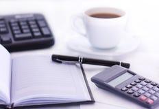 办公桌 免版税库存图片