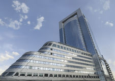 办公楼。莫斯科 免版税库存照片